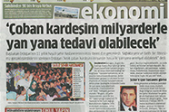 Billionaire and Shepherd Patients will be Operated Side By Side - Emsaş